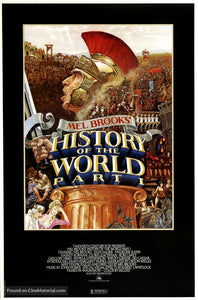 History of the World: Part I Poster//History of the World: Part I Movie Poster//Movie Poster//Poster Reprint