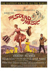 Sound of Music (1966) movie poster reprint