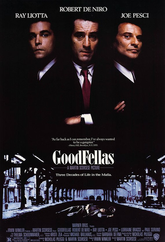 Original Goodfellas (1991) movie poster