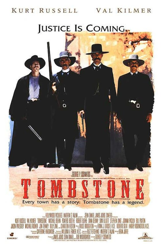 Original Tombstone (1994) Movie Poster Reprint Classica Movie Prints