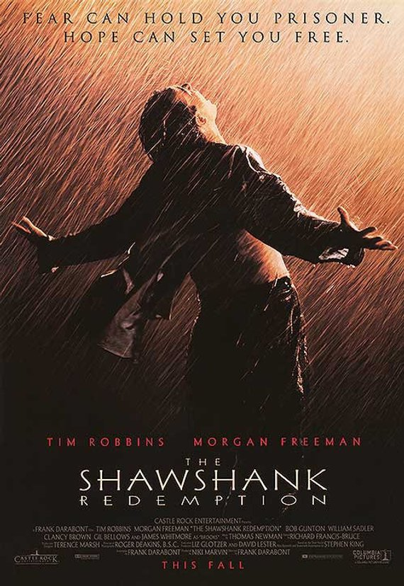 Original Shawshank Redemption (1994) Movie Poster Reprint