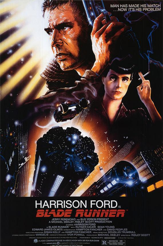 Original Blade Runner (1982) Movie Poster Reprint