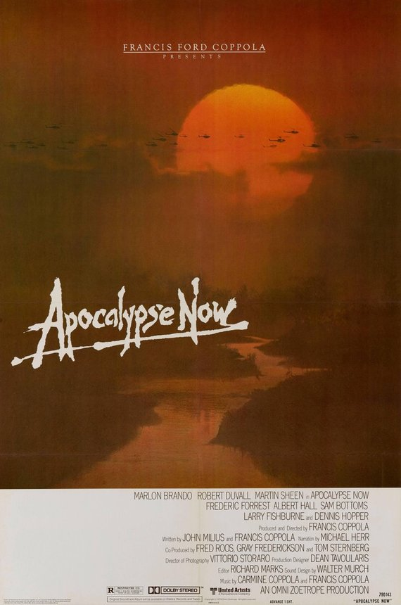 Original Apocalypse Now (1979) movie poster reprint