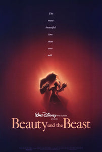 Rare Beauty and the Beast (1992) Movie Poster Reprint//Movie Poster//Poster Reprint//Wall Art