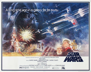 Star Wars Poster//Star Wars Movie Poster//Star Wars New Hope Poster//Movie Poster//Poster Reprint