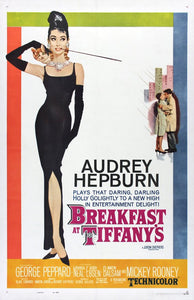 Original Breakfast at Tiffany's (1961) movie poster reprint