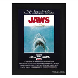 Original Jaws Movie Poster Reprint