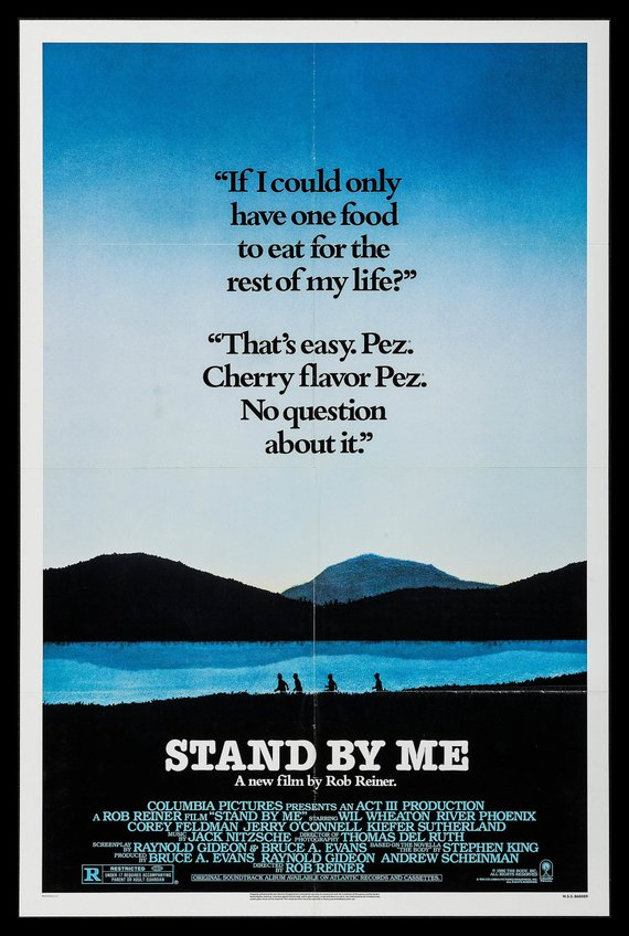 Stand By Me Movie Poster Reprint