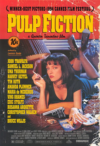 Original Pulp Fiction (1994) Movie Poster//Classic Movie Poster//Movie Reprint