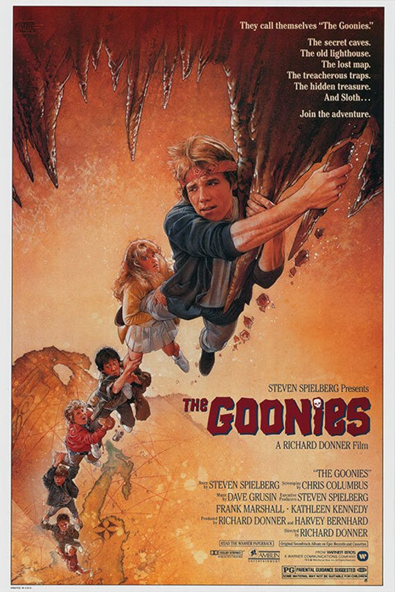 Original Goonies (1985) Movie Poster Reprint
