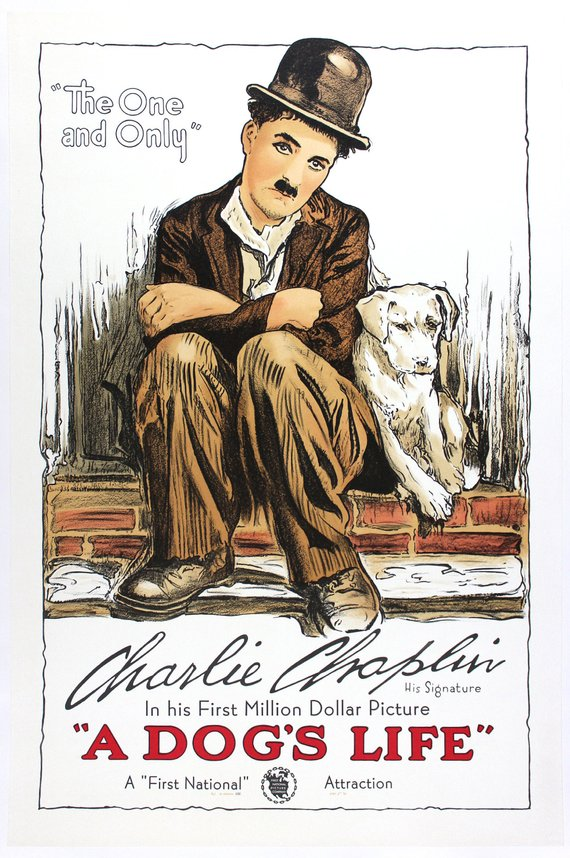 Vintage Charlie Chaplin Movie Poster// Classic Movie Poster//Movie Poster//Poster Reprint//Home Decor//Wall Decor//Vintage Art