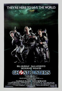 Vintage Ghostbusters Movie Poster// Classic Movie Poster//Movie Poster//Poster Reprint//Home Decor//Wall Decor//Vintage Art