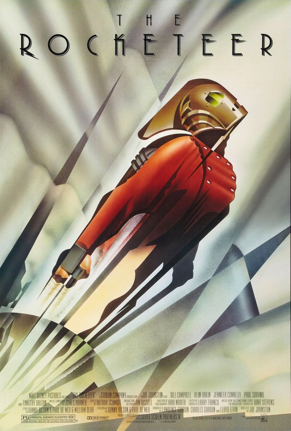 Vintage The Rocketeer Poster//Classic Movie Poster//Movie Poster//Poster Reprint//Home Decor//Wall Decor//Vintage Art