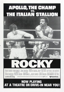 Vintage Rocky Poster//Classic Movie Poster//Movie Poster//Poster Reprint//Home Decor//Wall Decor//Vintage Art