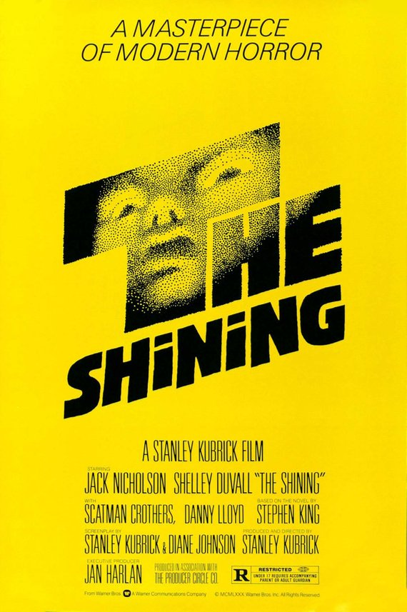 Vintage The Shining Poster//Classic Movie Poster//Movie Poster//Poster Reprint//Home Decor//Wall Decor//Vintage Art