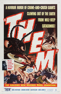 Vintage Them Poster//Classic Movie Poster//Movie Poster//Poster Reprint//Home Decor//Wall Decor//Vintage Art