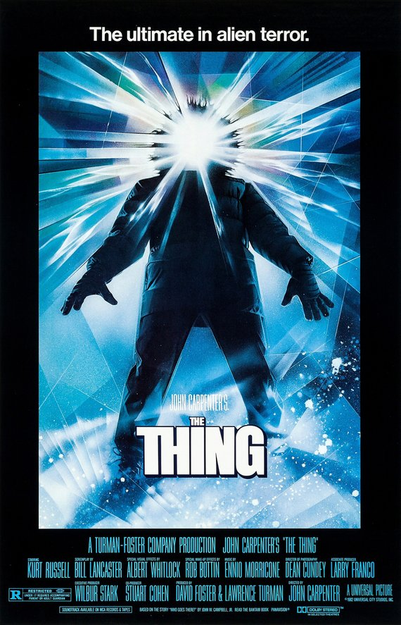 Vintage The Thing Poster//Classic Movie Poster//Movie Poster//Poster Reprint//Home Decor//Wall Decor//Vintage Art