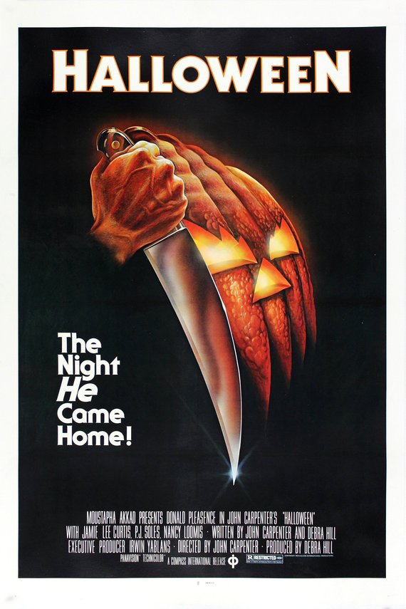Vintage Halloween Movie Poster// Classic Movie Poster//Movie Poster//Poster Reprint//Home Decor//Wall Decor//Vintage Art