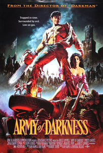 Vintage Army of Darkness Movie Poster// Classic Movie Poster//Movie Poster//Poster Reprint//Home Decor//Wall Decor//Vintage Art