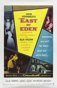 Vintage East of Eden Movie Poster// Classic Movie Poster//Movie Poster//Poster Reprint//Home Decor//Wall Decor//Vintage Art