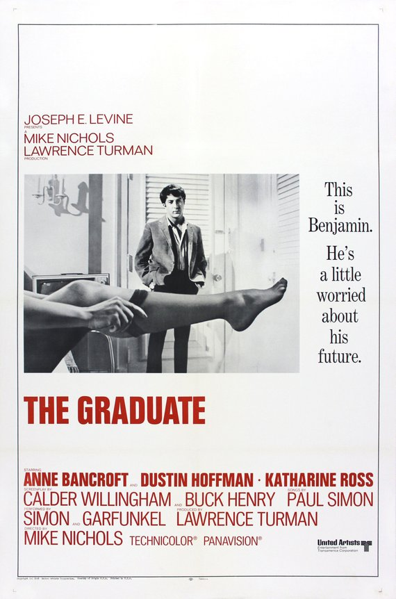 Original Graduate (1968) movie poster reprint