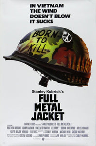 Vintage Full Metal Jacket Movie Poster// Classic Movie Poster//Movie Poster//Poster Reprint//Home Decor//Wall Decor//Vintage Art