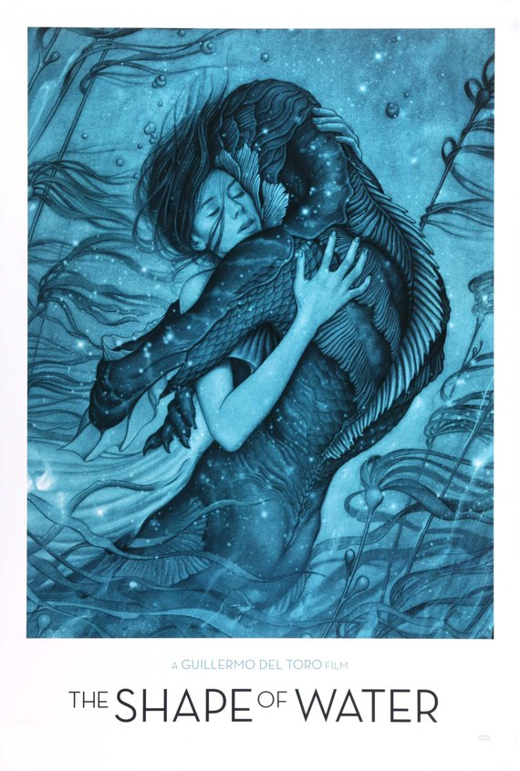 Vintage The Shape of Water Poster//Classic Movie Poster//Movie Poster//Poster Reprint//Home Decor//Wall Decor//Vintage Art