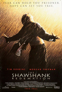 Vintage Shawshank Redemption Poster//Classic Movie Poster//Movie Poster//Poster Reprint//Home Decor//Wall Decor//Vintage Art