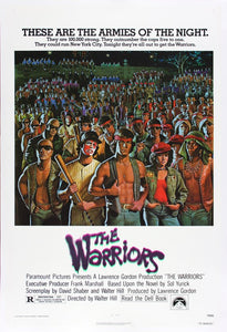 Vintage The Warriors Poster//Classic Movie Poster//Movie Poster//Poster Reprint//Home Decor//Wall Decor//Vintage Art