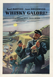 Vintage Whiskey Galore Poster//Classic Movie Poster//Movie Poster//Poster Reprint//Home Decor//Wall Decor//Vintage Art