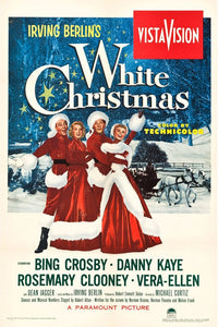 Vintage White Christmas Poster//Classic Movie Poster//Movie Poster//Poster Reprint//Home Decor//Wall Decor//Vintage Art