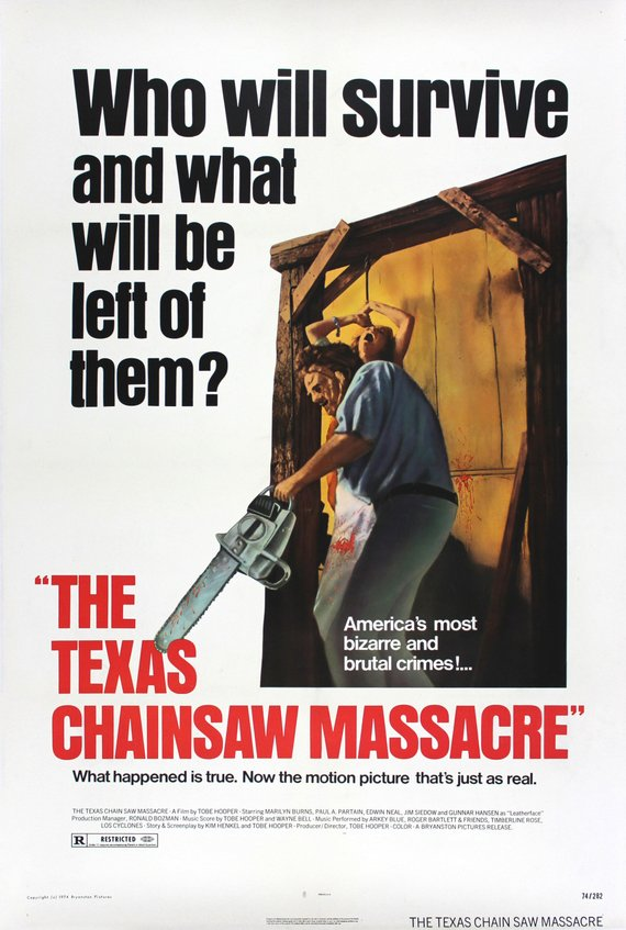 Vintage The Texas Chainsaw Massacre Movie Poster// Classic Movie Poster//Movie Poster//Poster Reprint//Home Decor//Wall Decor//Vintage Art