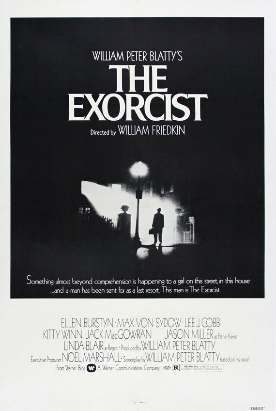 Original The Exorcist (1973) movie poster reprint