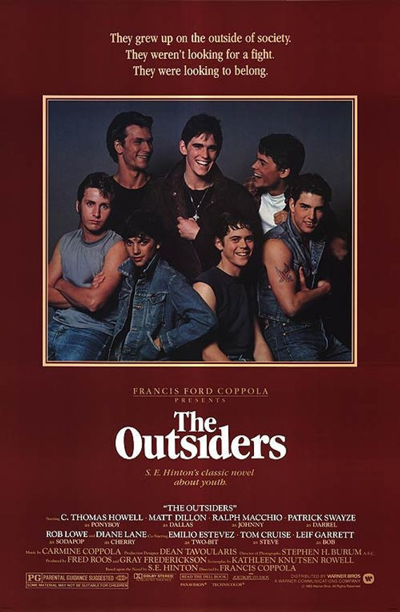 Original Outsiders (1983) Movie Poster Reprint