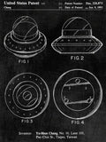 Flying Saucer Patent Poster - Patent Art - Patent Print - Patent Poster -  Wall Art - Antique Patent