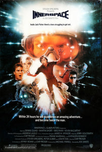 Innerspace Poster//Innerspace Movie Poster//Movie Poster//Poster Reprint