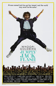Jumpin' Jack Flash Poster//Jumpin' Jack Flash Movie Poster//Movie Poster//Poster Reprint