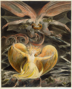 William Blake Great Red Dragon And The Woman Clothed With The Sun