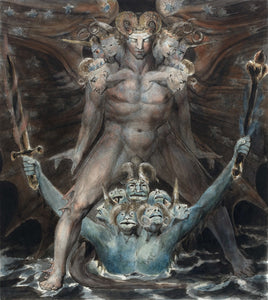 William Blake The Great Red Dragon And The Beast From The Sea