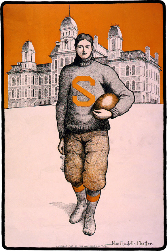 Syracuse University Football Player - 1903