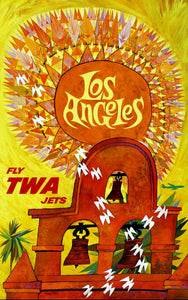Los Angeles Fly TWA Jets