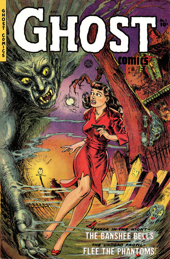 Ghost No 1 Pulp Comic Book Cover
