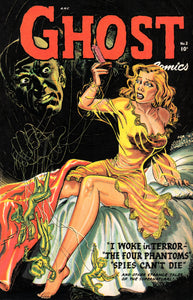 Ghost No 2 Pulp Comic Book Cover