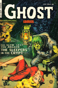 Ghost Comics No 6 Pulp Book Cover