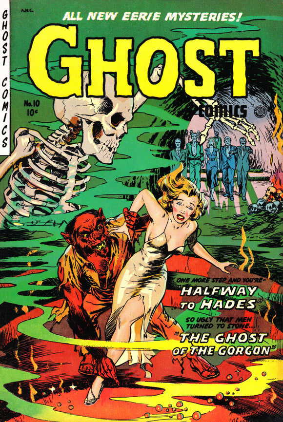 Ghost Comics No 10 Pulp Book Cover