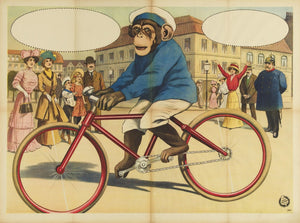 Victorian Monkey On A Bike