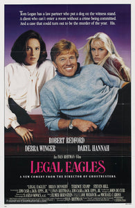Legal Eagles Poster//Legal Eagles Movie Poster//Movie Poster//Poster Reprint