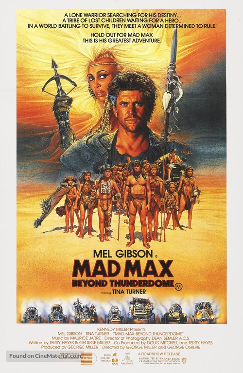 Mad Max Beyond Thunderdome Poster//Mad Max Beyond Thunderdome Movie Poster//Movie Poster//Poster Reprint