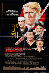 Merry Christmas Mr. Lawrence Poster//Merry Christmas Mr. Lawrence Movie Poster//Movie Poster//Poster Reprint