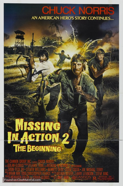Missing in Action 2: The Beginning Poster//Missing in Action 2: The Beginning Movie Poster//Movie Poster//Poster Reprint